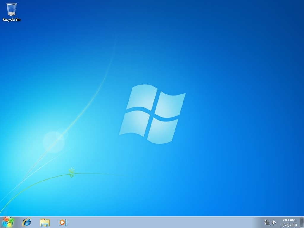 03 on o trocar plano de fundo do windows 7